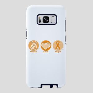 Peace Love Orange Hope Samsung Galaxy S8 Case
