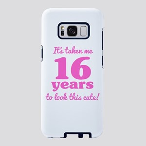 Cute 16th Birthday For Wome Samsung Galaxy S8 Case