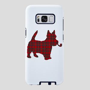 Scottish Terrier Tartan Samsung Galaxy S8 Case