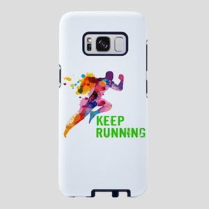 Keep Running Samsung Galaxy S8 Case