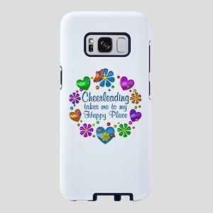 Cheerleading My Happy Place Samsung Galaxy S8 Case
