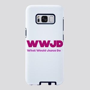 WWJD What Would Jesus Do? Samsung Galaxy S8 Case