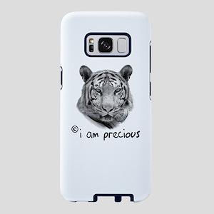 White Tiger i am precious Samsung Galaxy S8 Case