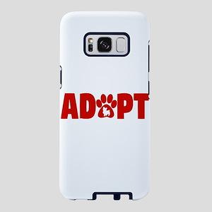 Cute Pets Paw Cat Dog Adopt Samsung Galaxy S8 Case