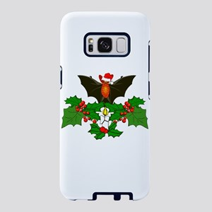 Christmas Holly With Bat Samsung Galaxy S8 Case