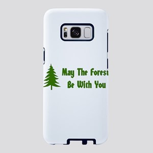 May The Forest Be With You Samsung Galaxy S8 Case