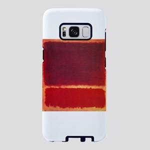 ROTHKO ORANGE RED Samsung Galaxy S8 Case