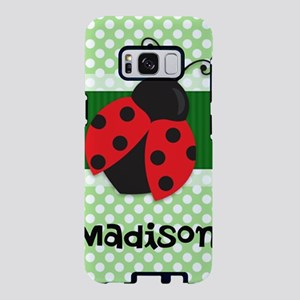 Personalized Ladybug on Gre Samsung Galaxy S8 Case