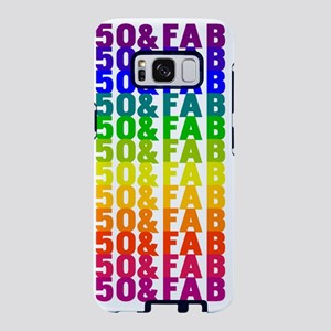 Fabulous 50th Birthday Samsung Galaxy S8 Case