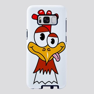 Crazy Chicken Samsung Galaxy S8 Case