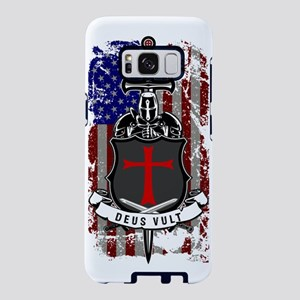 AMERICAN KNIGHT GOD WILLS I Samsung Galaxy S8 Case