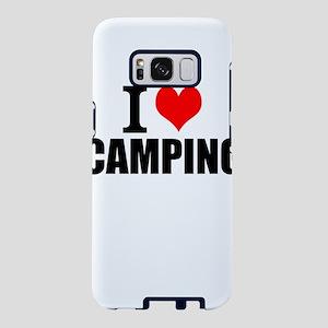 I Love Camping Samsung Galaxy S8 Case