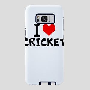 I Love Cricket Samsung Galaxy S8 Case