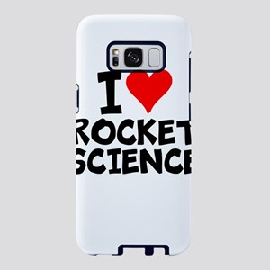 I Love Rocket Science Samsung Galaxy S8 Case