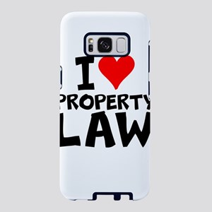I Love Property Law Samsung Galaxy S8 Case