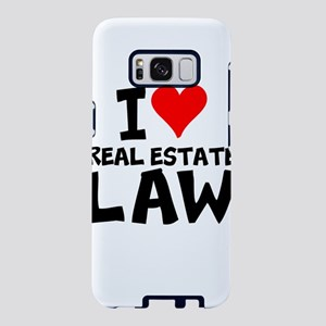 I Love Real Estate Law Samsung Galaxy S8 Case
