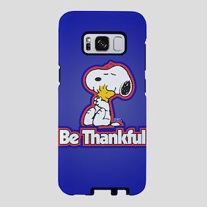 Peanuts Be Thankful Samsung Galaxy S8 Case