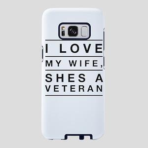 I love my wife, shes a veteran Samsung Galaxy S8 C