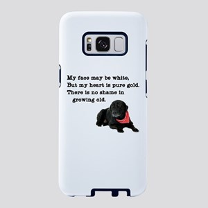 Old Black Lab Samsung Galaxy S8 Case