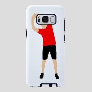 Exercising Man Samsung Galaxy S8 Case
