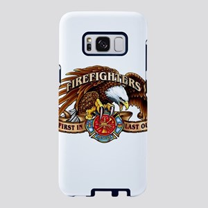 firefighter eagle Samsung Galaxy S8 Case