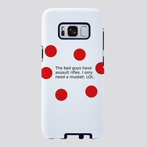 Bad Guys Have Assault Rifle Samsung Galaxy S8 Case