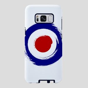 Paint stroke Mod Target des Samsung Galaxy S8 Case