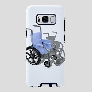 WheelchairBlueSeat073110.pn Samsung Galaxy S8 Case