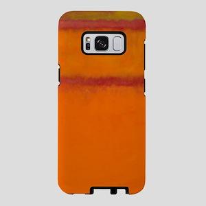 ROTHKO IN RED ORANGE Samsung Galaxy S8 Case