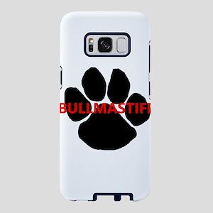 bullmastiff name paw Samsung Galaxy S8 Case