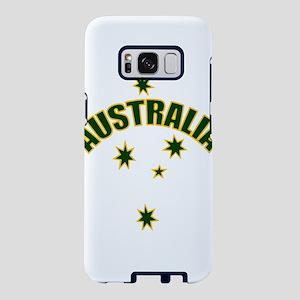 Australia Green and Yellow Samsung Galaxy S8 Case
