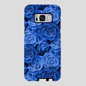 Blue Roses Samsung Galaxy S8 Case