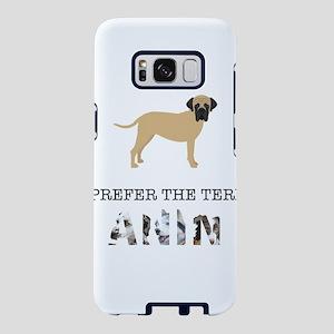 Crazy Bullmastiff Dog Lady Samsung Galaxy S8 Case
