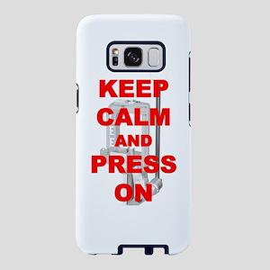 KeepCalmandPress Samsung Galaxy S8 Case