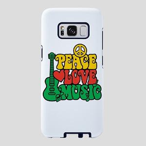 Reggae Peace Love Music Samsung Galaxy S8 Case