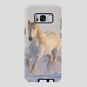white horse h678 Samsung Galaxy S8 Case