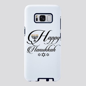 Happy Hanukkah- Jewish holi Samsung Galaxy S8 Case