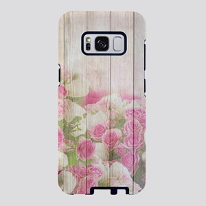 Beautiful Pink Tulip Floral Samsung Galaxy S8 Case