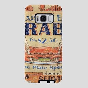 retro seafood restaurant cr Samsung Galaxy S8 Case