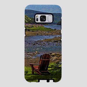 Seats for Two in the Shade Samsung Galaxy S8 Case