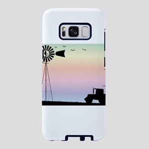 Farm Morning Sky Samsung Galaxy S8 Case