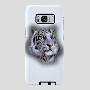 White Tiger Face Samsung Galaxy S8 Case