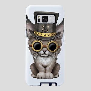 Cute Steampunk Baby Lynx Cub Samsung Galaxy S8 Cas