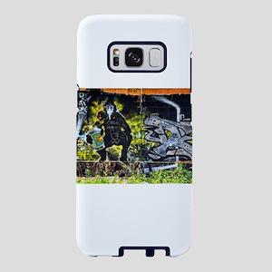 Bio-hazard Graffiti Samsung Galaxy S8 Case