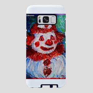 Clown! Colorful, fun, art, Samsung Galaxy S8 Case