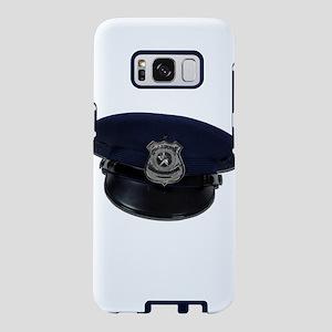 PoliceBadgeCap090411 Samsung Galaxy S8 Case