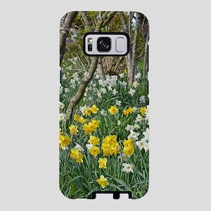Yellow spring daffodils Samsung Galaxy S8 Case