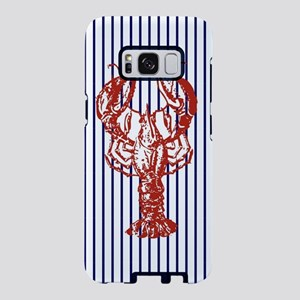 nautical stripes vintage lo Samsung Galaxy S8 Case