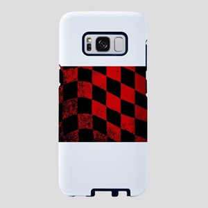 Dirty Chequered Flag Samsung Galaxy S8 Case