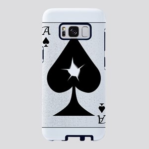 Playing Card Bullet Hole Samsung Galaxy S8 Case